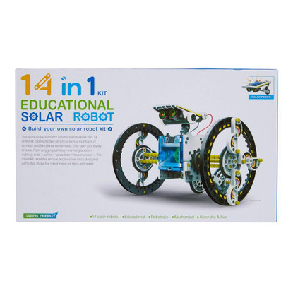 CIC - 14 in 1 Educational Solar Robot (9322318004992)