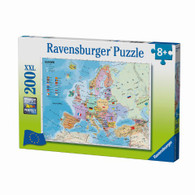 Ravensburger - European Map Puzzle 200pc RB12841-9