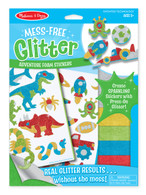 Mess-Free Glitter - Adventure Foam Stickers