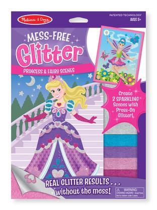 Mess-Free Glitter - Princes & Fairy Scenes Stickers