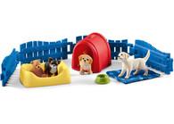 Schleich - Puppy Pen SC42480 (4055744029868) 1