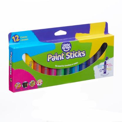 Little Brian Paint Sticks - Classic 12 pk