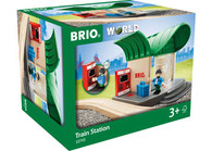BRIO Destination - Train Station, 4 pieces BRI33745