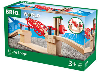 BRIO Bridge - Lifting Bridge, 3 pieces BRI33757