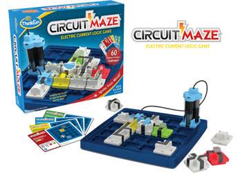ThinkFun - Circuit Maze Game TN1008