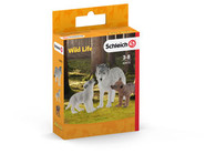 Schleich - Mother Wolf with Pups SC42472 (4055744029790) 1