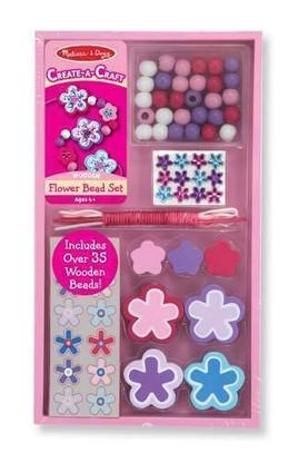 Flower Bead Set in package  kiozwi.com.au