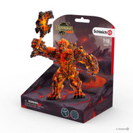 Schleich - Eldrador Lava Golem with Weapon