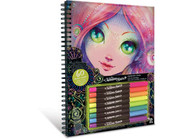 Nebulous Stars - Colouring Book - Black Pages NEB11111