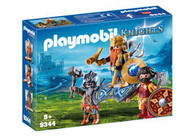 Playmobil -  Dwarf King with Guards PMB9344