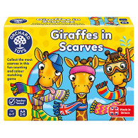 Giraffes In Scarves OC070N box