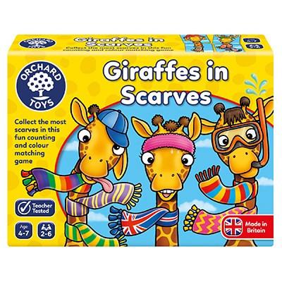 Giraffes In Scarves OC070N box