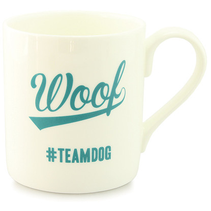 Woof Team Dog Mug