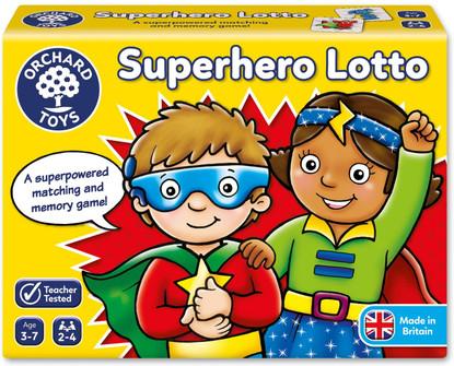 Orchard Game - Superhero Lotto OC065N box