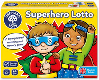 Orchard Game - Superhero Lotto OC065N box