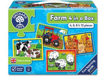 Orchard Jigsaw - Farm Four In A Box OC209 box