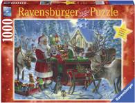 Ravensburger - Christmas Packing the Sleigh Puz 1000pc RB13977-4