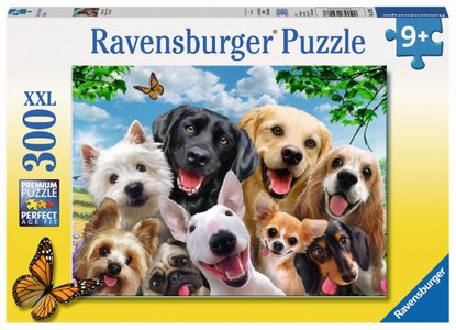 Ravensburger - Delighted Dogs Puzzle 300pc RB13228-7