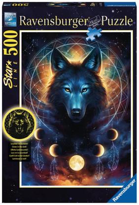 Ravensburger - Lunar Wolf Puzzle 500pc RB13970-5 Box