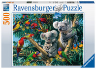 Ravensburger - Koalas in a Tree Puzzle 500 piece RB14826-4