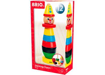 BRIO Infant - Stacking Clown, 9 pieces BRI30120