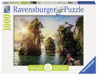 Ravensbuger- The Rocks in Cheow, Thailand 1000pc Nature Edition No.15 RB13968-2