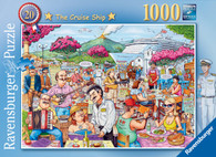 Ravensburger - Best British No20 Cruise Ship Puzzle 1000 piece RB19820-7