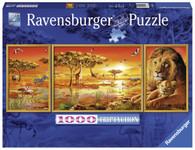 Ravensburger - African Majesty Triptychon Puzzle 1000pc RB19836-8