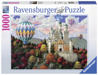 Ravensburger - Neuschwanstein Dreams Puzzle 1000pc RB19857-3