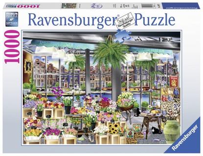 Ravensburger - Wanderlust Amsterdam Flower Market 1000 piece RB13987-3