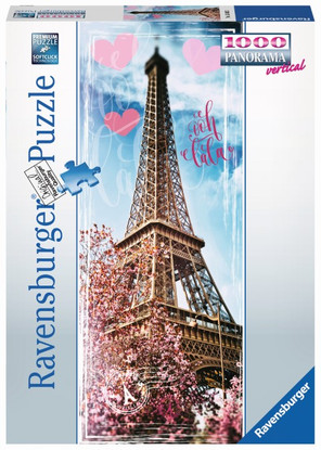 Ravensburger - Ooh Lala, Paris Puzzle 1000 piece RB15103-5