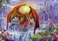 Ravensburger - Dragon Kingdom Puzzle 1000pc RB15269-8 jigsaw