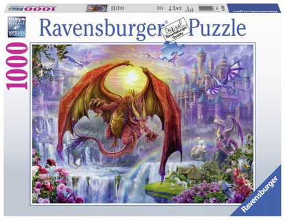 Ravensburger - Dragon Kingdom Puzzle 1000pc RB15269-8