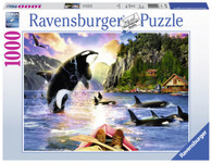 Ravensburger - Close Encounters Puzzle 1000pc RB15270-4