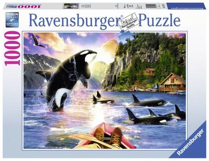 Ravensburger - Close Encounters Puzzle 1000pc RB15270-4