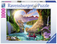 Ravensburger - Heartview Cave Puzzle 1000pc RB15272-8