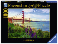 Ravensburger - Golden Gate Sunrise Puzzle 1000pc RB15289-6