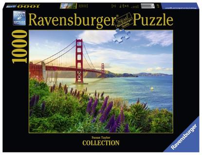 Ravensburger - Golden Gate Sunrise Puzzle 1000pc RB15289-6