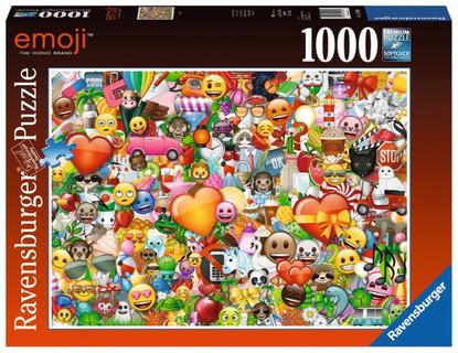 Ravensburger- Emoji II Puzzle 1000pc RB15984-0