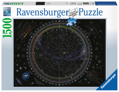 Ravensburger - Map of the Universe Puzzle 1500pc RB16213-0