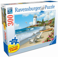 Ravensburger - Sunlit Shores Large Format Puzzle 300 piece RB13535-6