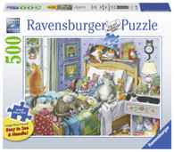 Ravensburger - Cat Nap Large Format Puzzle 500pc RB14966-7