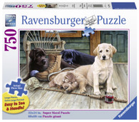 Ravensburger - Ruff Day Large Format Puzzle 750pc RB19939-6
