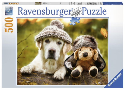 Ravensburger - Winter Labrador Puzzle 500pc RB14783-0