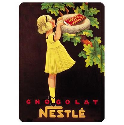 Tin Sign - Nestle