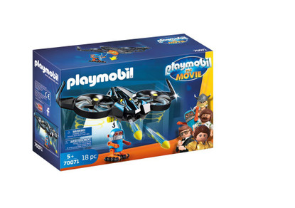 Playmobil - The Movie Robotitron with Drone PMB70071