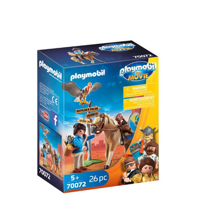 Playmobil - The Movie Marla with Horse PMB70072