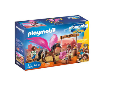 Playmobil - The Movie Marla & Del with Flying Pegasus PMB70074