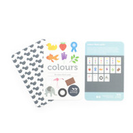 Colour Flash Cards (with bag) - Two Little Ducklings