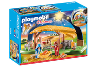 Playmobil - Illuminating Nativity Manger Box